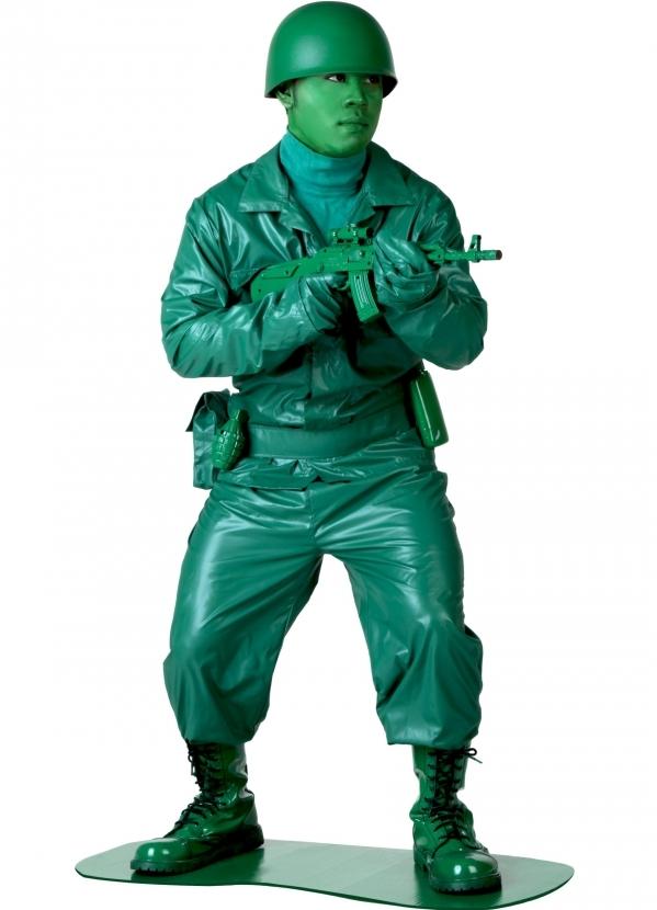 A Green Army Man