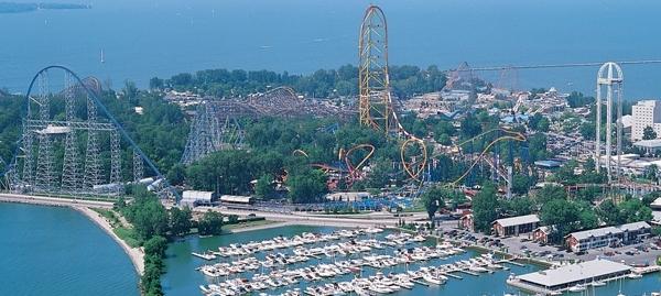 Ride the Coasters at Ohio Cedar Point
