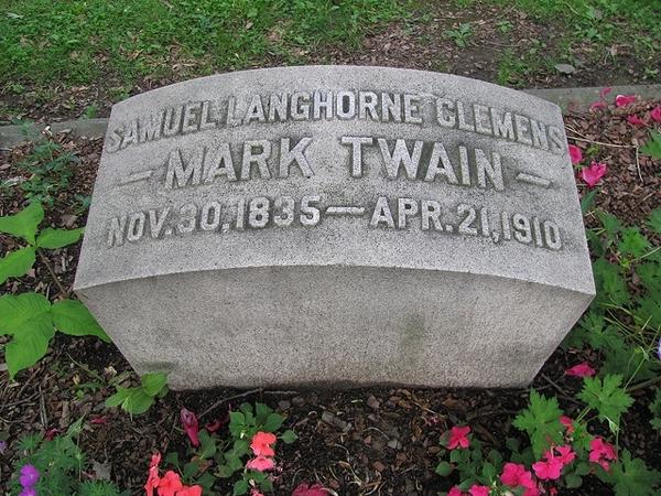 Visit Mark Twain's Grave