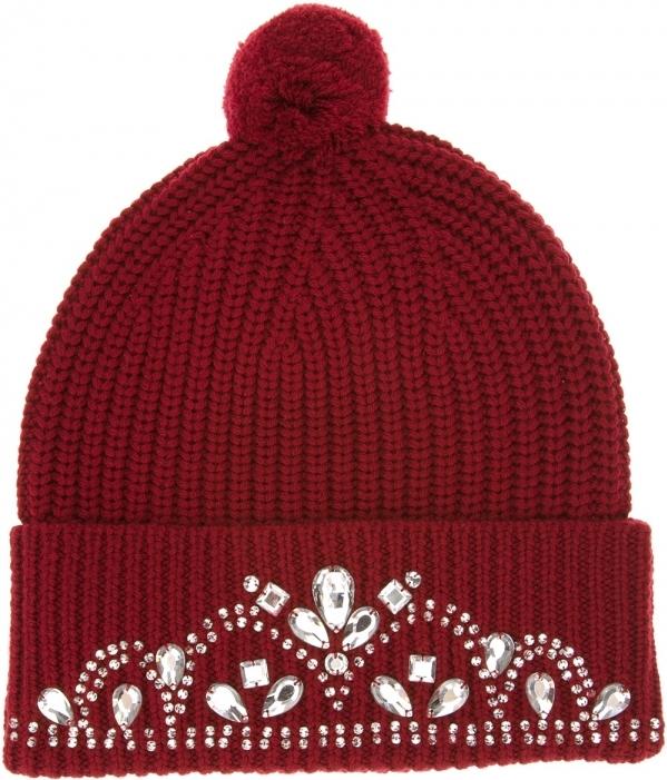 Knitted Jewel Beanie