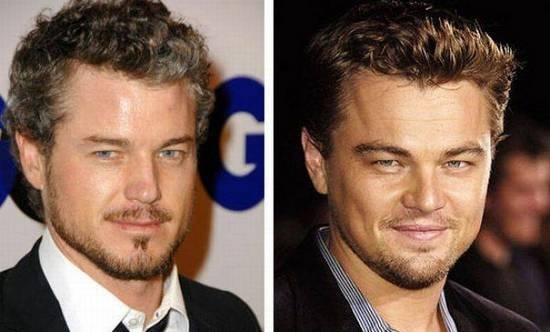 Eric Dane & Leonardo DiCaprio