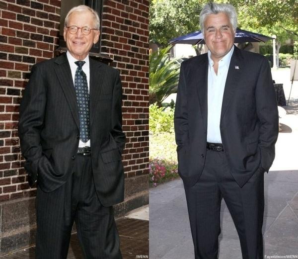 David Letterman and Jay Leno