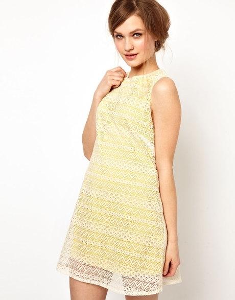 ASOS – Jarlo Layered Lace a Line Mini Dress
