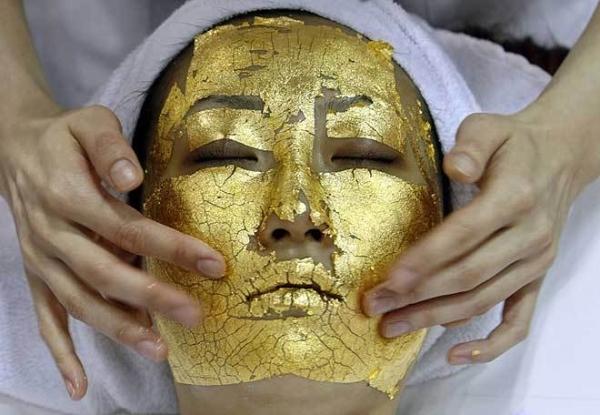 Solid Gold Facial