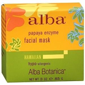 Alba Hawaiian Facial Mask, Papaya Enzyme