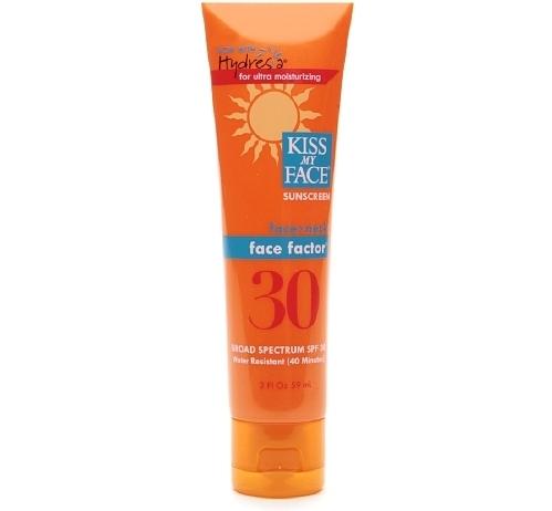 Kiss My Face Face Factor Sunscreen, SPF 30