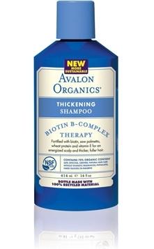 Avalon Organics Shampoo, Thickening, Biotin B-Complex