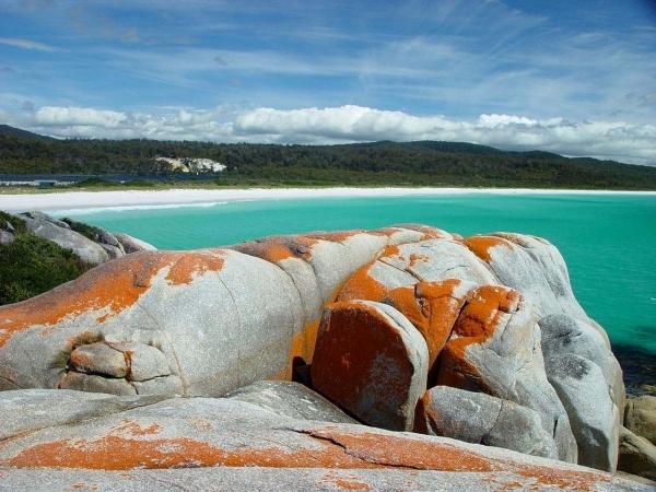The Bay of Fires, Tasmania