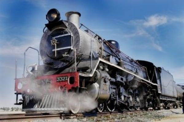 Vintage Train Ride, Namibia