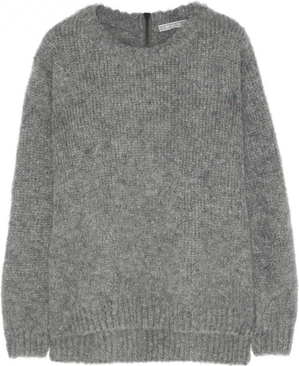 Fluffy Mohair-blend Sweater