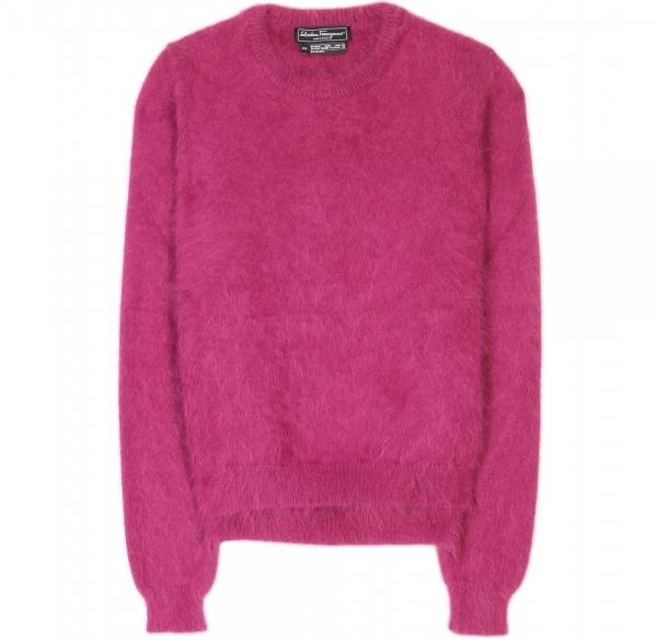 Fluffy Angora Sweater