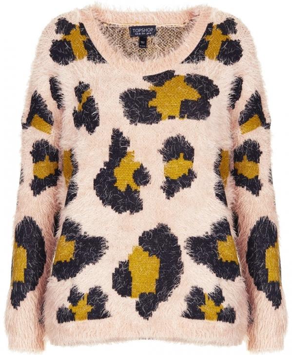 Fluffy Animal Sweater