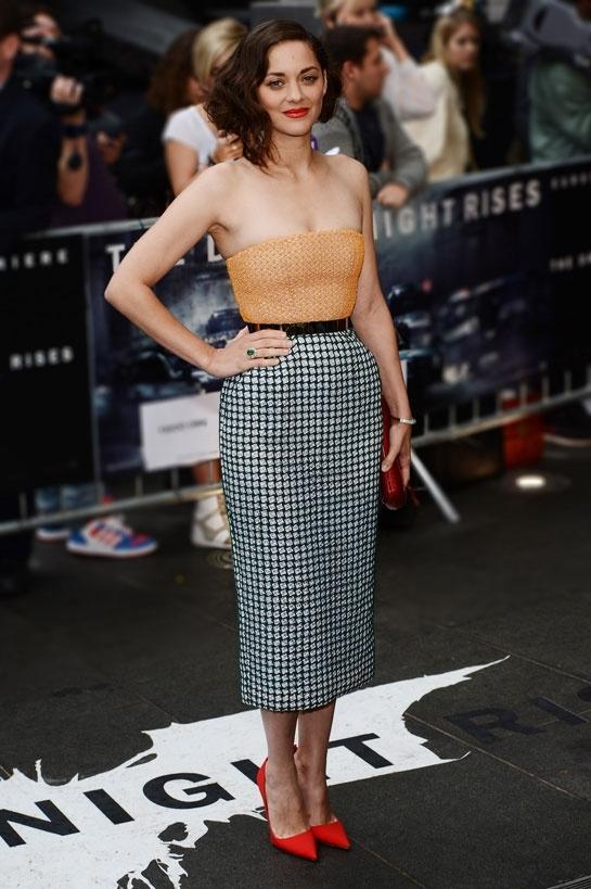 2012 Dark Knight Rises London Movie Premiere