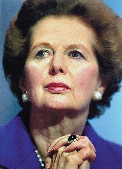 Margaret Thatcher, Former Conservative Prime Minister of the UK