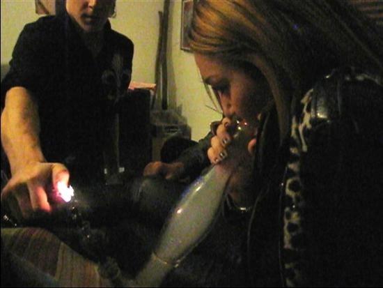 Smoking Caught on Tape