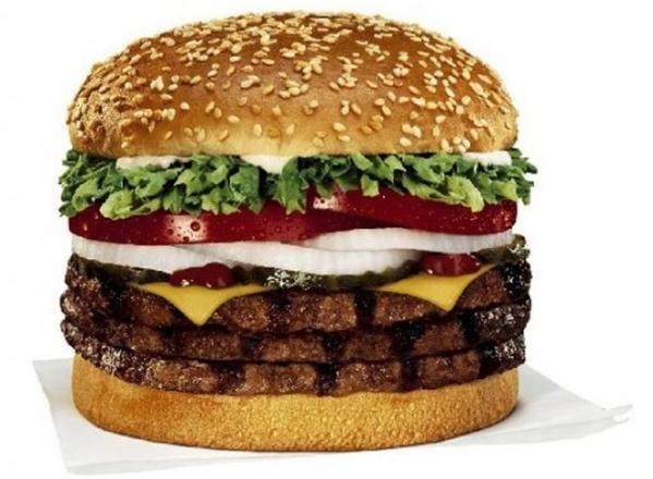 Triple Whopper, Burger King