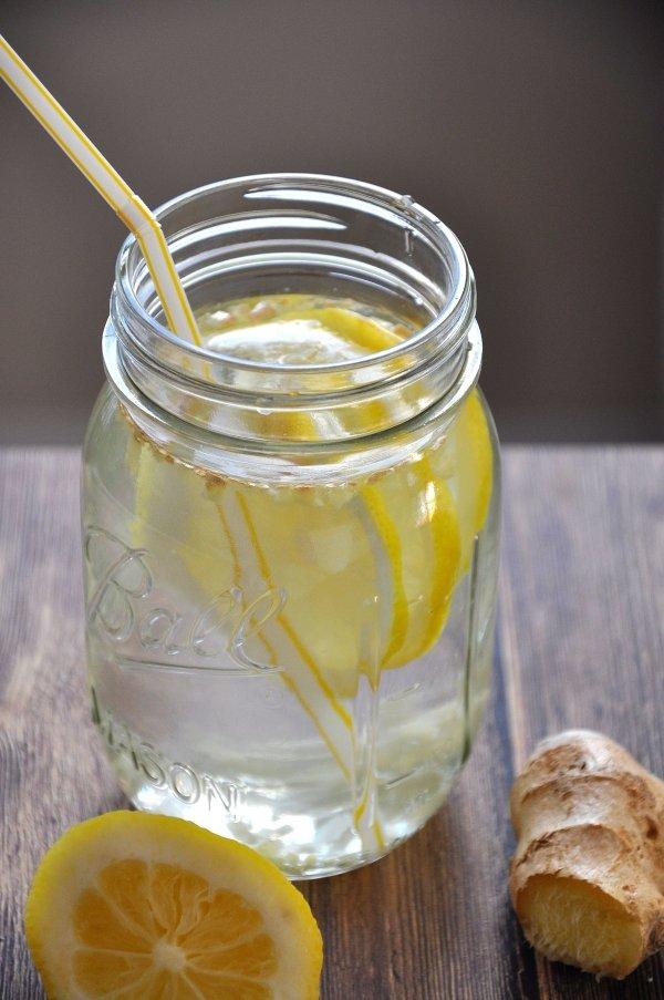 Lemon Ginger Water