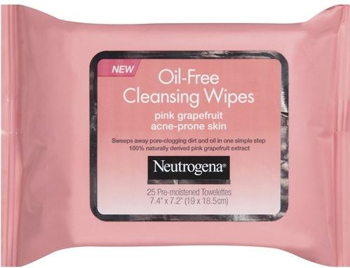 Neutrogena Oil-Free Cleansing Wipes