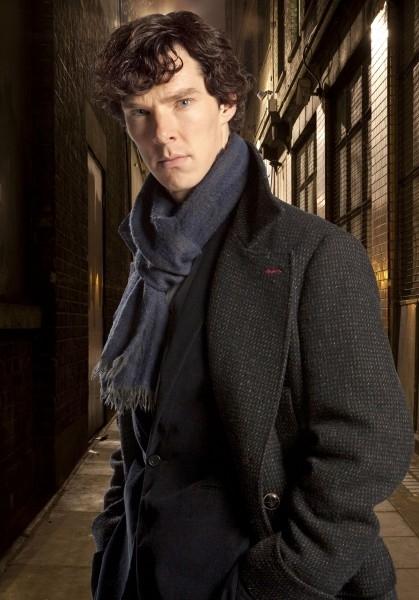 Benedict Cumberbatch from Sherlock