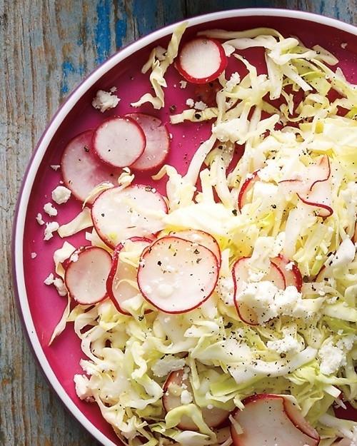 Shredded Salt Cod Salad