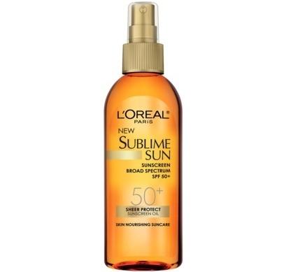 L'Oreal Paris Sublime Suncreen Oil Spray SPF 50+