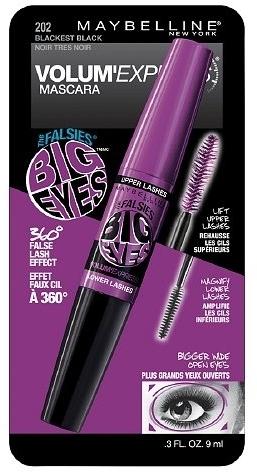 Maybelline Volum' Express the Falsies Big Eyes Washable Mascara