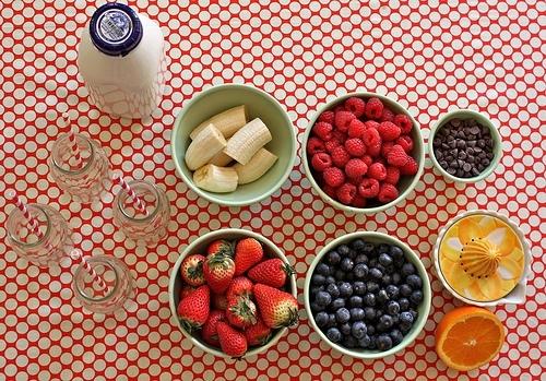 Mixed up Fruit Smoothie