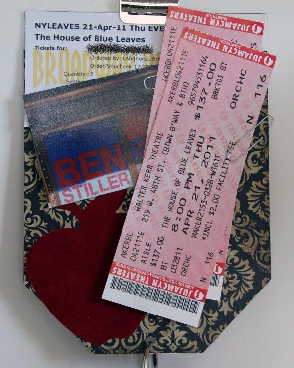 Broadway or Movie Tickets