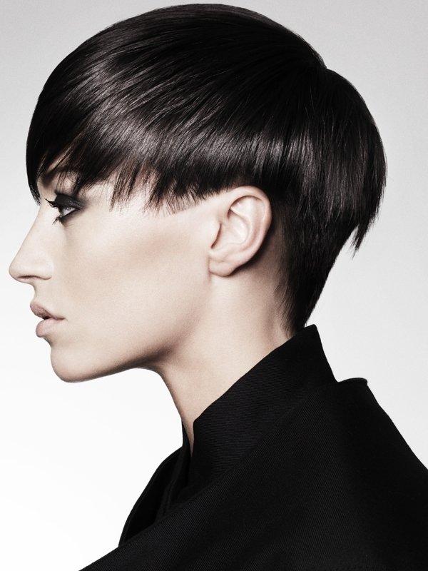 Cropped Bangs & Short Hair