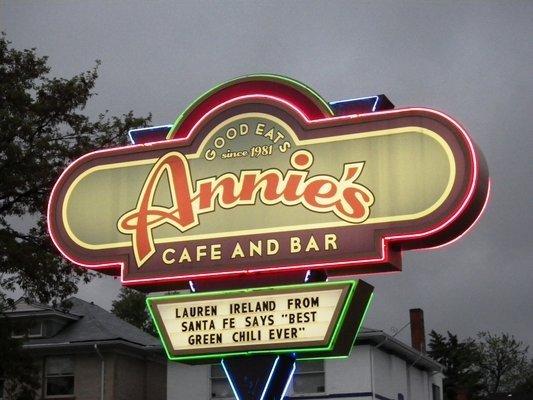 Annie's Café – 3100 E. Colfax Avenue, Denver, CO 80206