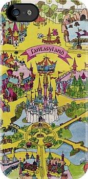 Vintage Fantasyland Map