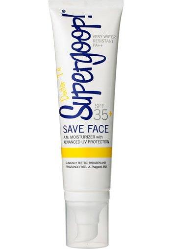 Supergoop! SPF 35+ save Face Oil-Free a.M. Moisturizer