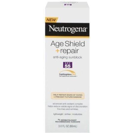 Neutrogena Age Shield Repair Sunblock Lotion SPF 55