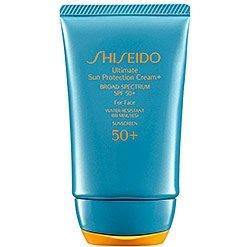 Shiseido Ultimate Sun Protection Cream+ for Face, SPF 50+