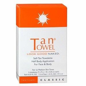 Tan Towel Classic Full Body Application