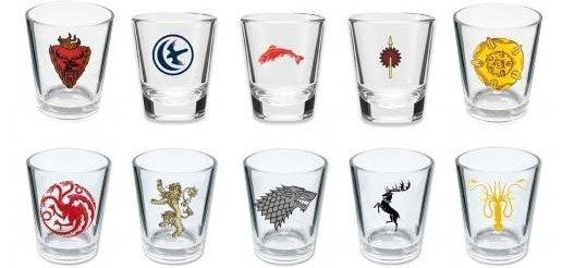 Game of Thrones Shot Glasses