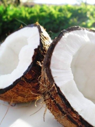 produce, food, coconut, vegetable, dish,
