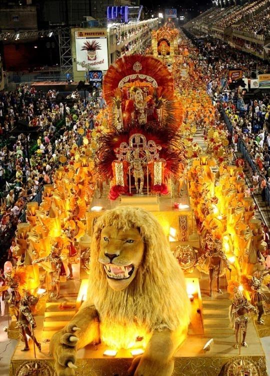 Revel at the Rio Carnival, Brazil