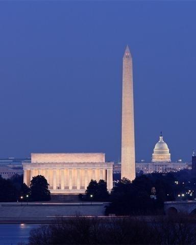 Wander around Washington D.C. USA