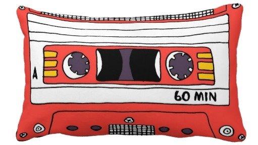 Cassette Tape Pillow