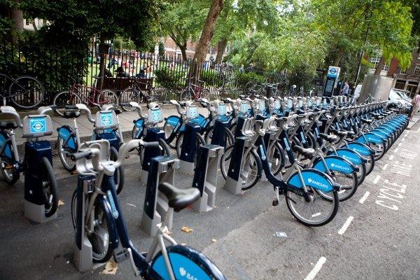 Rent a Boris Bike