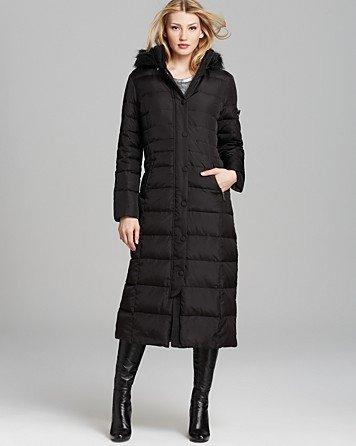 Dkny Down Hooded Maxi Coat 11 Best Puffer Jackets