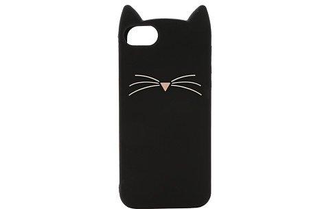 Kate Spade New York Black Cat Silicone Phone Case