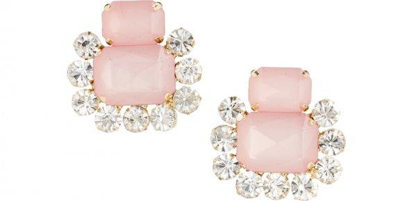 Double Jewel Earrings