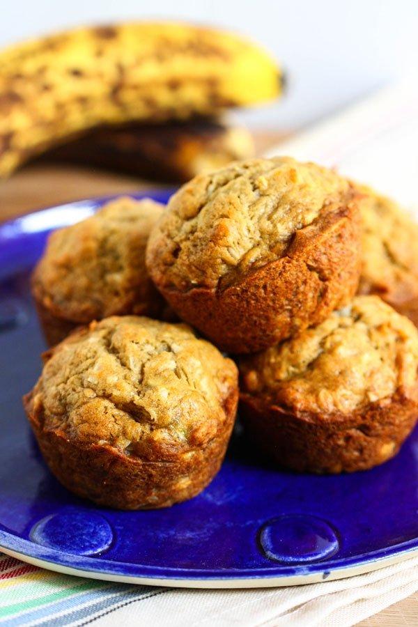 Gluten Free Big Banana Bread Muffins