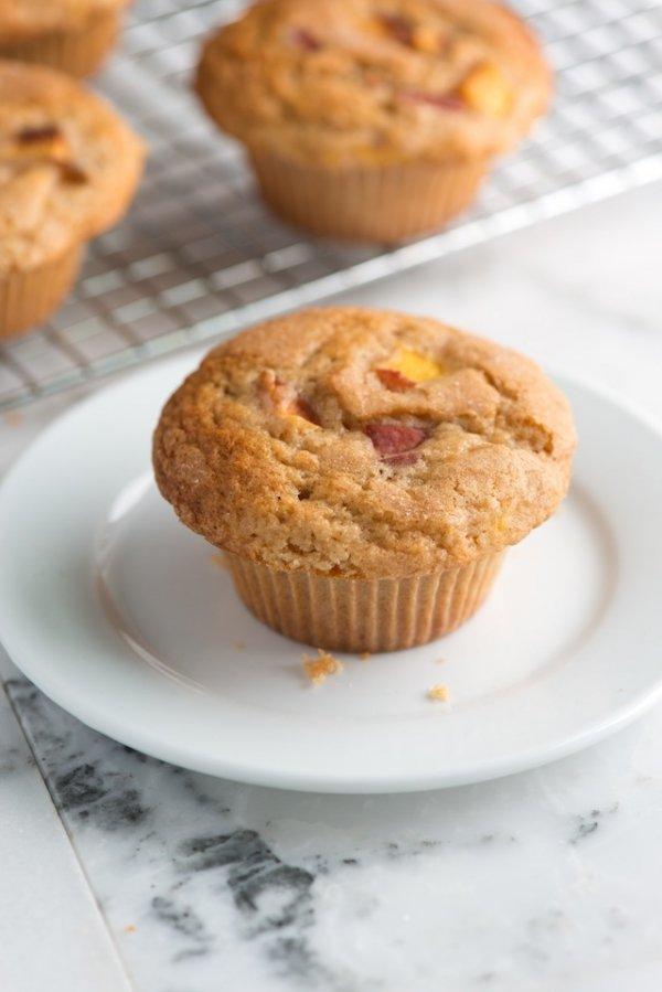 Gluten-Free Cherry Vanilla Muffins