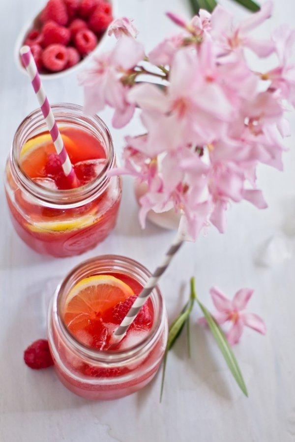 Stress Reducing Raspberry Tea