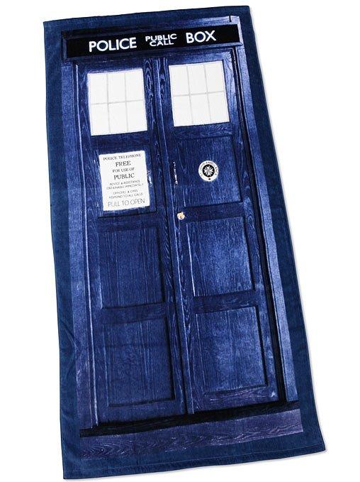Doctor Who TARDIS Bath/Beach Towel