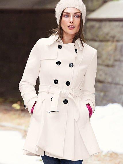 Victoria's Secret Wool Trench Coat