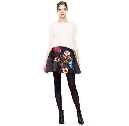 Club Monaco Ciarra Floral Circle Skirt